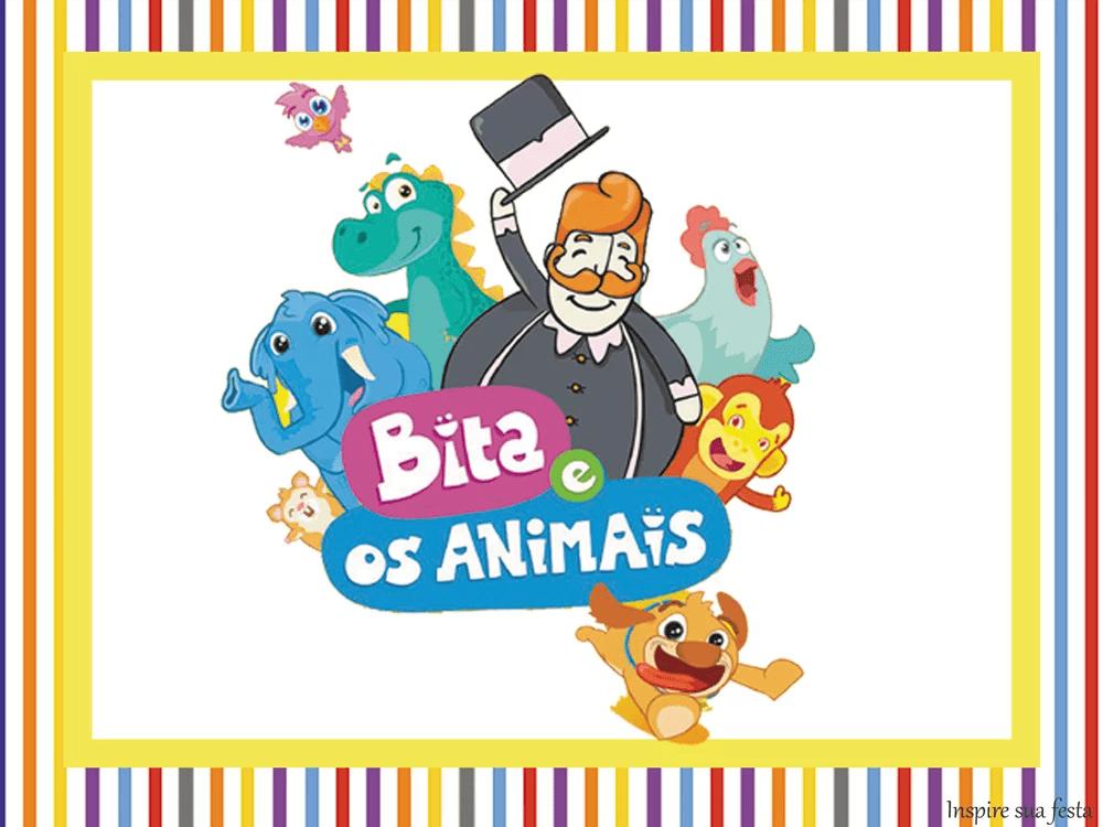 Bita e os animais – Personalizados gratuitos