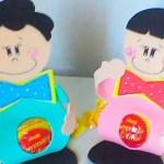 Lembrancinha em EVA: Porta Bombom para as Crianças