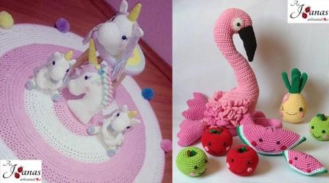As Joanas artesanatos – Peças em crochet