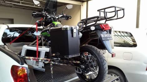 Terpasang pada Kawazaki Dtracker 250