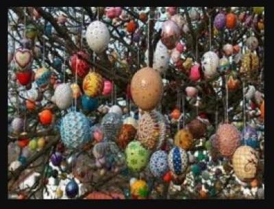 kerajinan dari kulit telur, kerajinan dari cangkang telur, vas bunga dari kulit telur