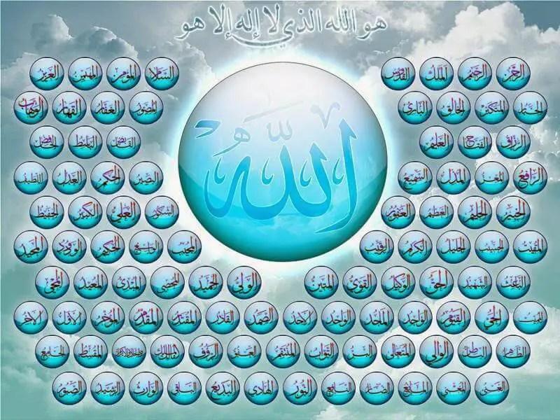 asmaul husna beserta artinya lengkap dengan bacaan latin, tulisan arab dan penjelasan maknanya + link download gambar tulisan asmaul husna dan artinya lengkap