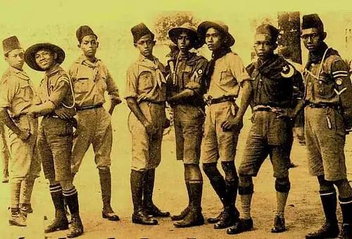 sejarah pramuka indonesia singkat