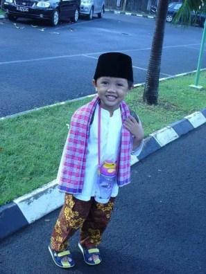 pakaian adat betawi anak laki-laki