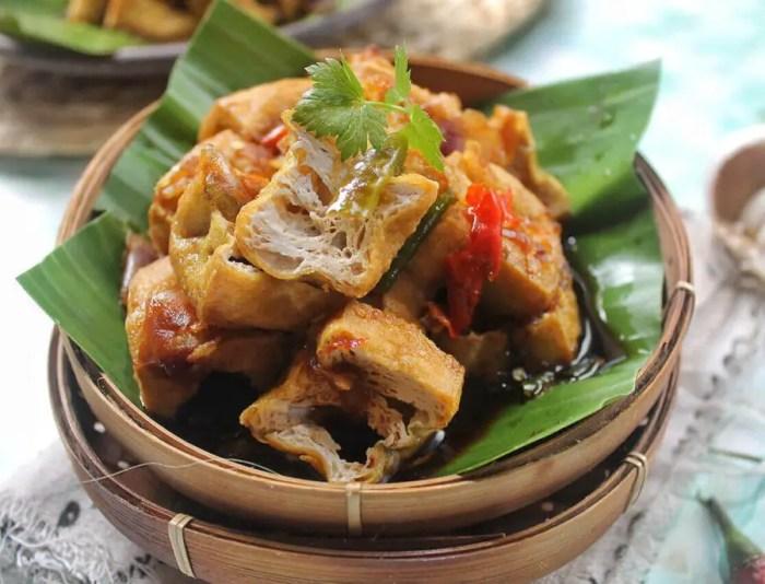 Tahu gejrot - makanan khas jawa barat enak banget