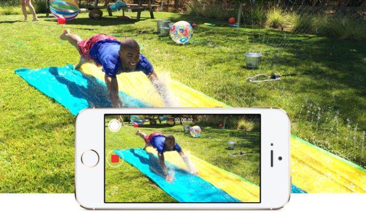 kamera iPhone 5s slow moton