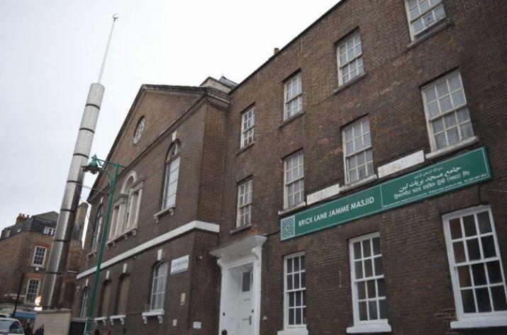 tempat wisata di inggris Brick Lane Mosque