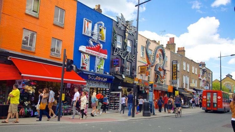 tempat wisata di inggris Camden Town