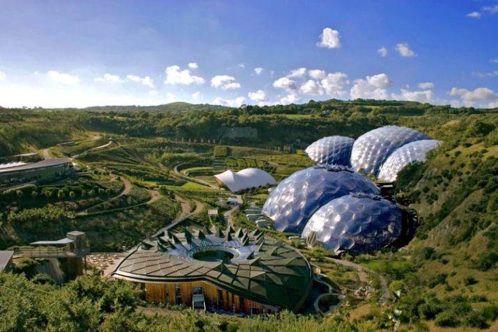 tempat wisata di inggris Eden Project