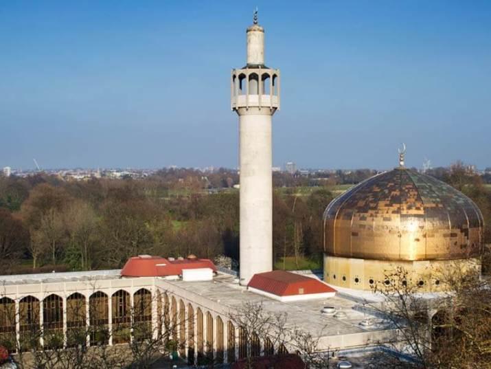 tempat wisata di inggris Masjid Sentral London