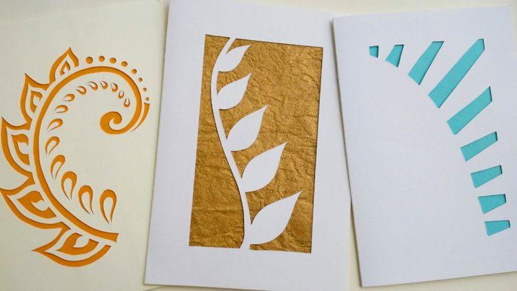 jenis kertas papercraft biefcard
