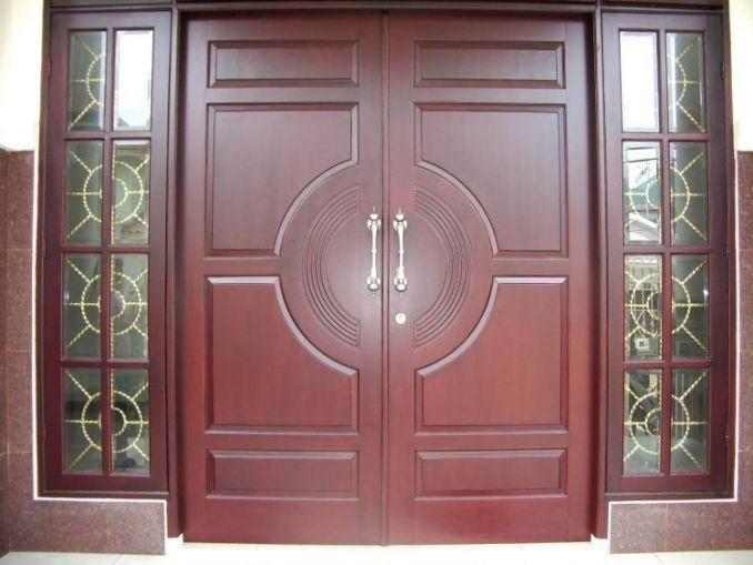 Gambar Pintu Rumah Kayu Kati
