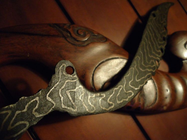 senjata pencak silt kujang