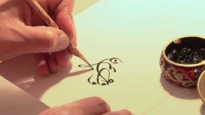 gambar membuat kaligrafi arab