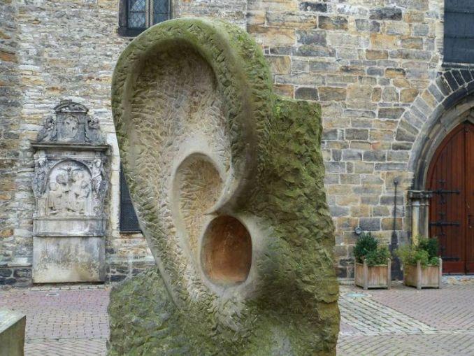 gambar telinga dari batu