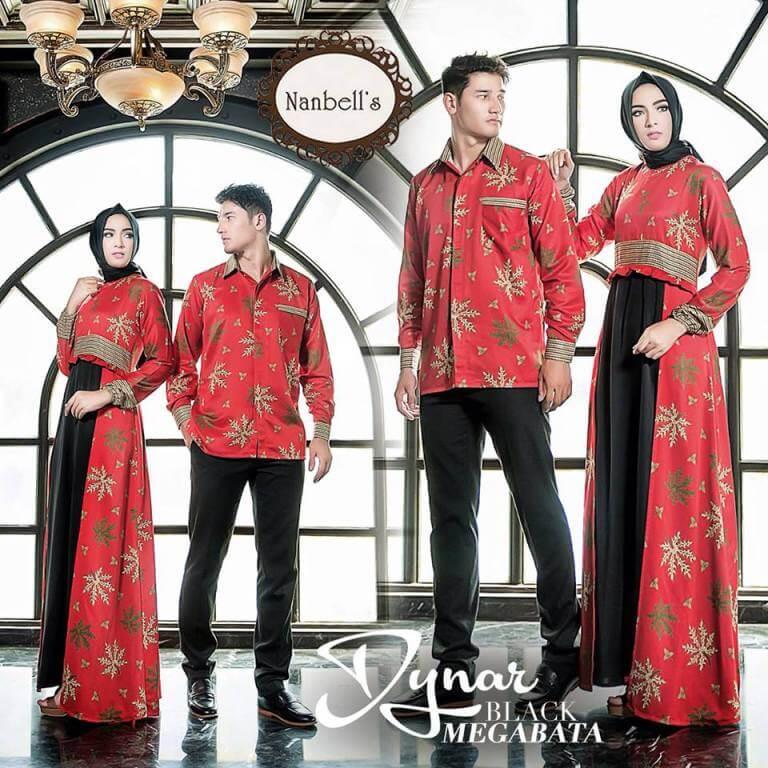 Desain gamis batik pesta. Ide terbaik dalam memilih model baju gamis brokat  kombinasi desain modern elegan wanita muslim terbaru 2018 gamis brokat  pesta ... 96dec9c542