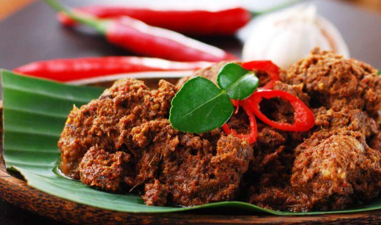 masakan enak Indonesia - rendang