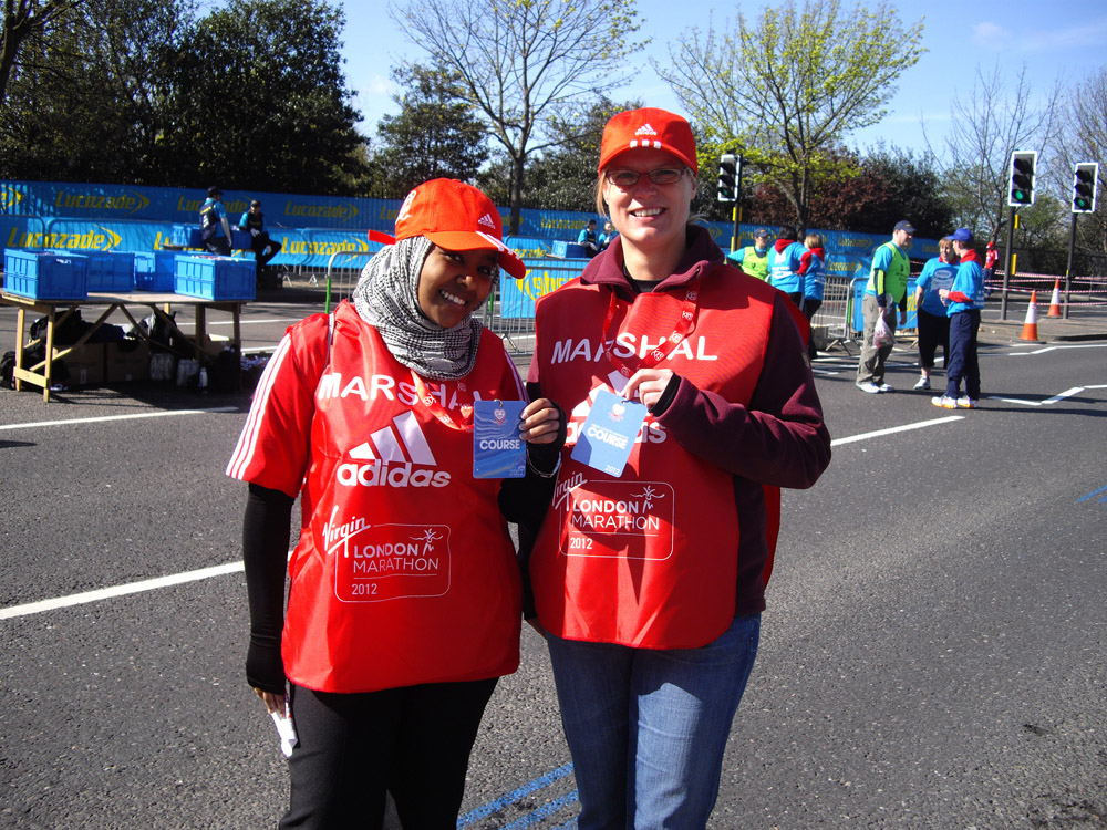 Volunteering at the London Marathon (1/6)