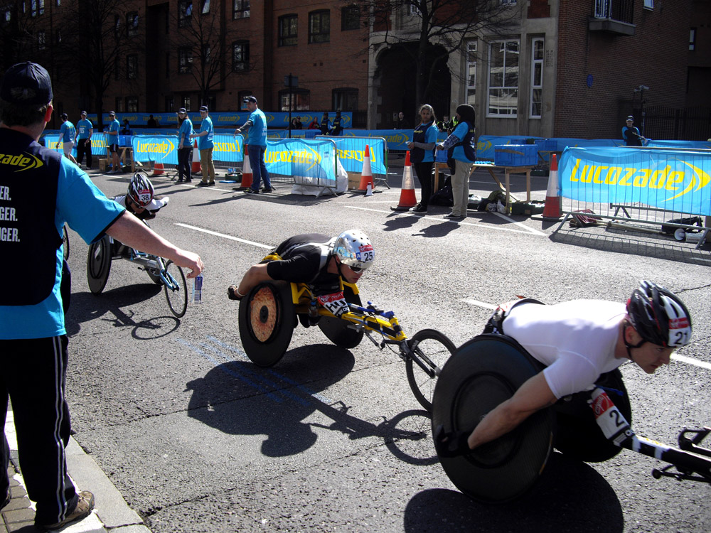 Volunteering at the London Marathon (2/6)
