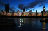 Houses of Parliament lights up (5)