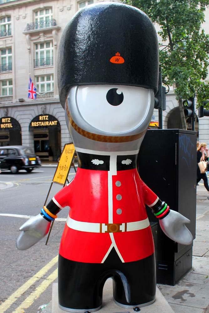 London Landmark Wenlock and Mandeville (4/4)