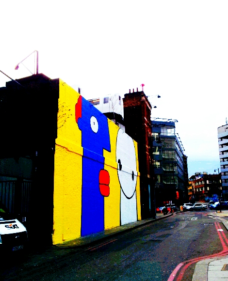Stik and Thierry Noir version of the Village Underground wall