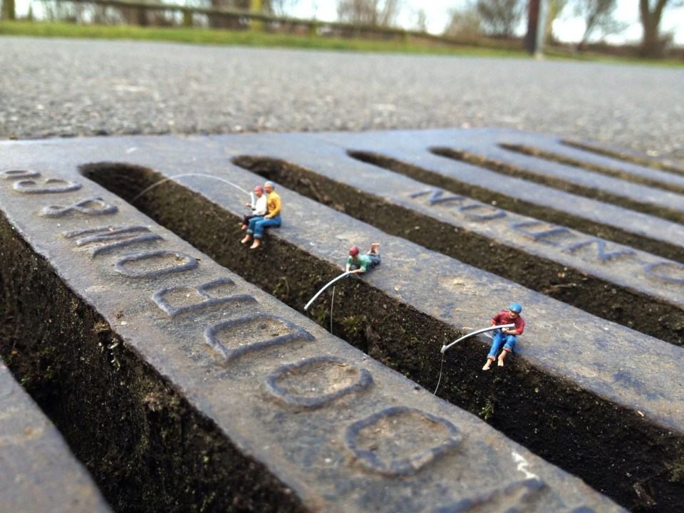 'Wishful Thinking' by Roy's People.  His tiny figures totally change the perspective