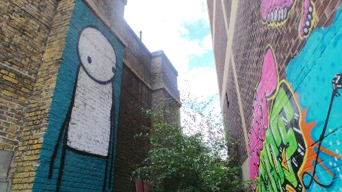 Stik and Sweet Toof are instantly recognisable on the street.