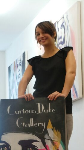 Eleni Duke Curator of the Curious Duke Gallery