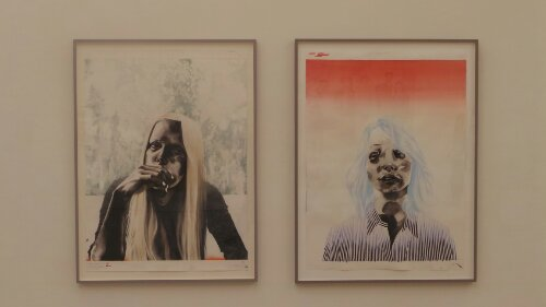 Works from Storm Tharp 'window' and 'Jodie Jill'