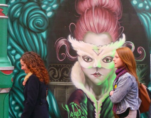 German artist Sokar Uno has been out and about Brick Lane