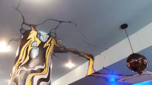 A crack in the ceiling by CEPT