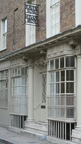 On Artillery Lane, one of London's oldest shop fronts can be seen on our walking tour of the East End of London