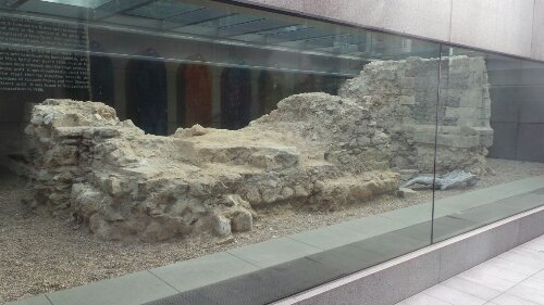 The Charnel House, a repository for bodies, was discovered during excavations in 1999.