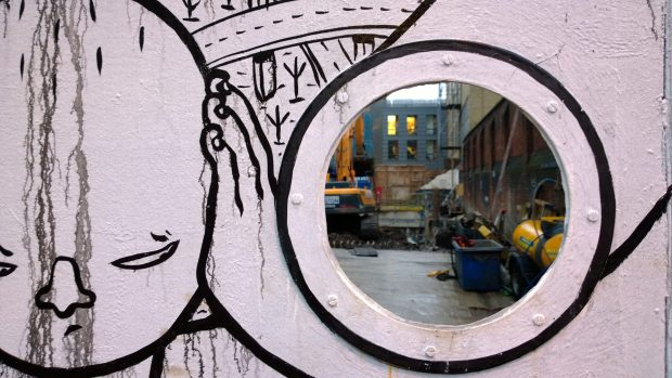 Millo has been active on the streets of London, this could be seen on Old Street
