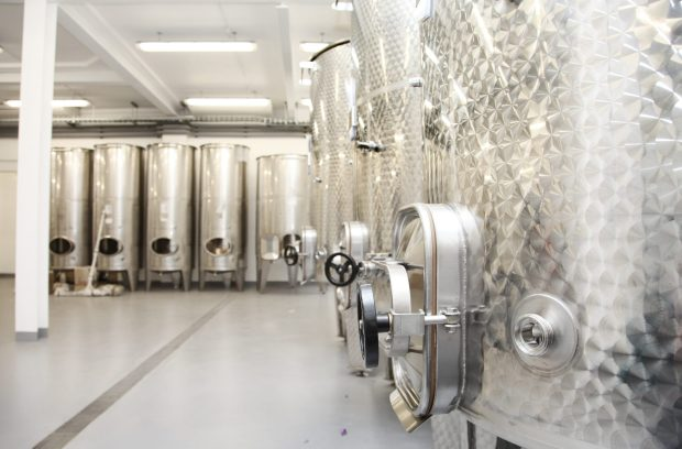 Real wine being made in the heart of the city