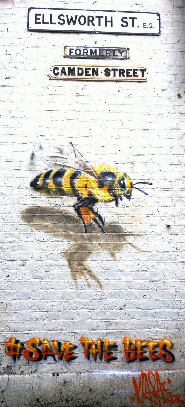 Flying Bee on Ellsworth Street