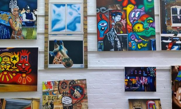 Inside Andreas studio