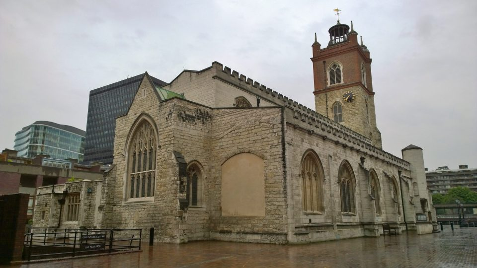 St Giles Cripplegate in the Barbican