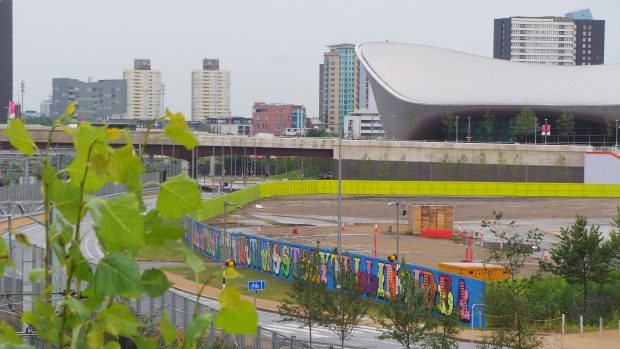 Eine mural from the Copper Box