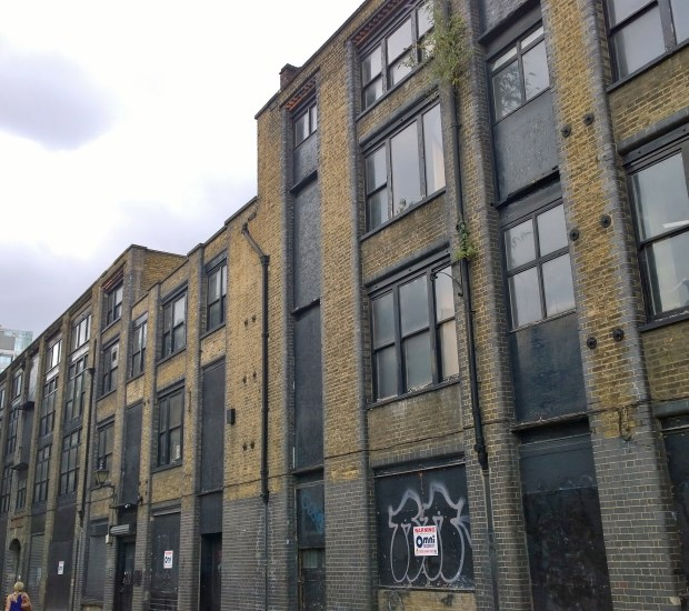 1886 Warehouse on Blossom Street norton folgate
