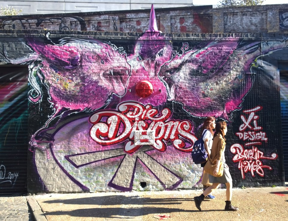 Great piece from Die Dixons on Sclater Street