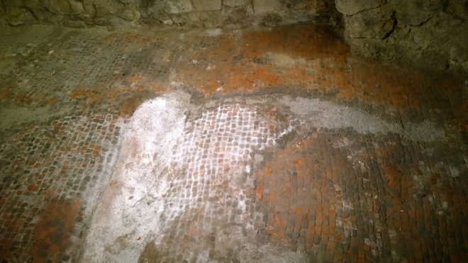 The Roman Floor in All Hallows by the Tower