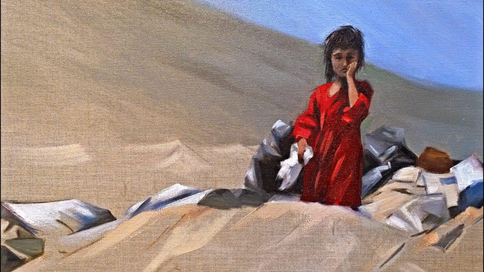 'Displaced' by Arabella Dorman