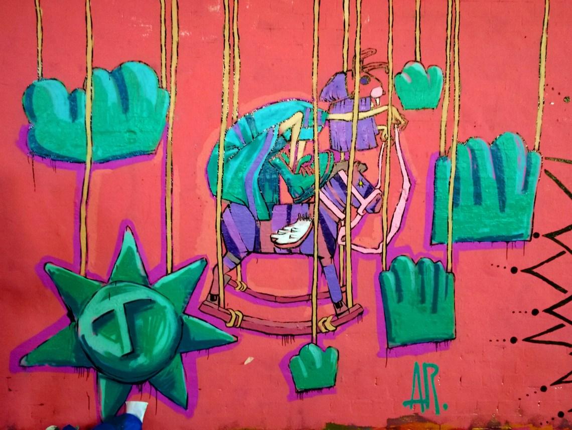 AR piece created during Femme Fierce 2014
