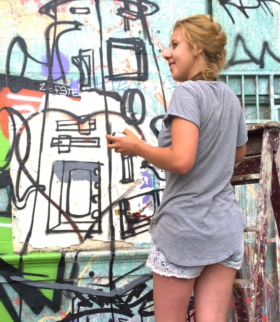 AR in action during the Hackney Wicked festival