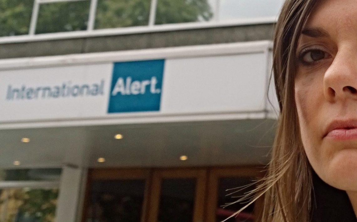 Illaria Bianchi from International Alert