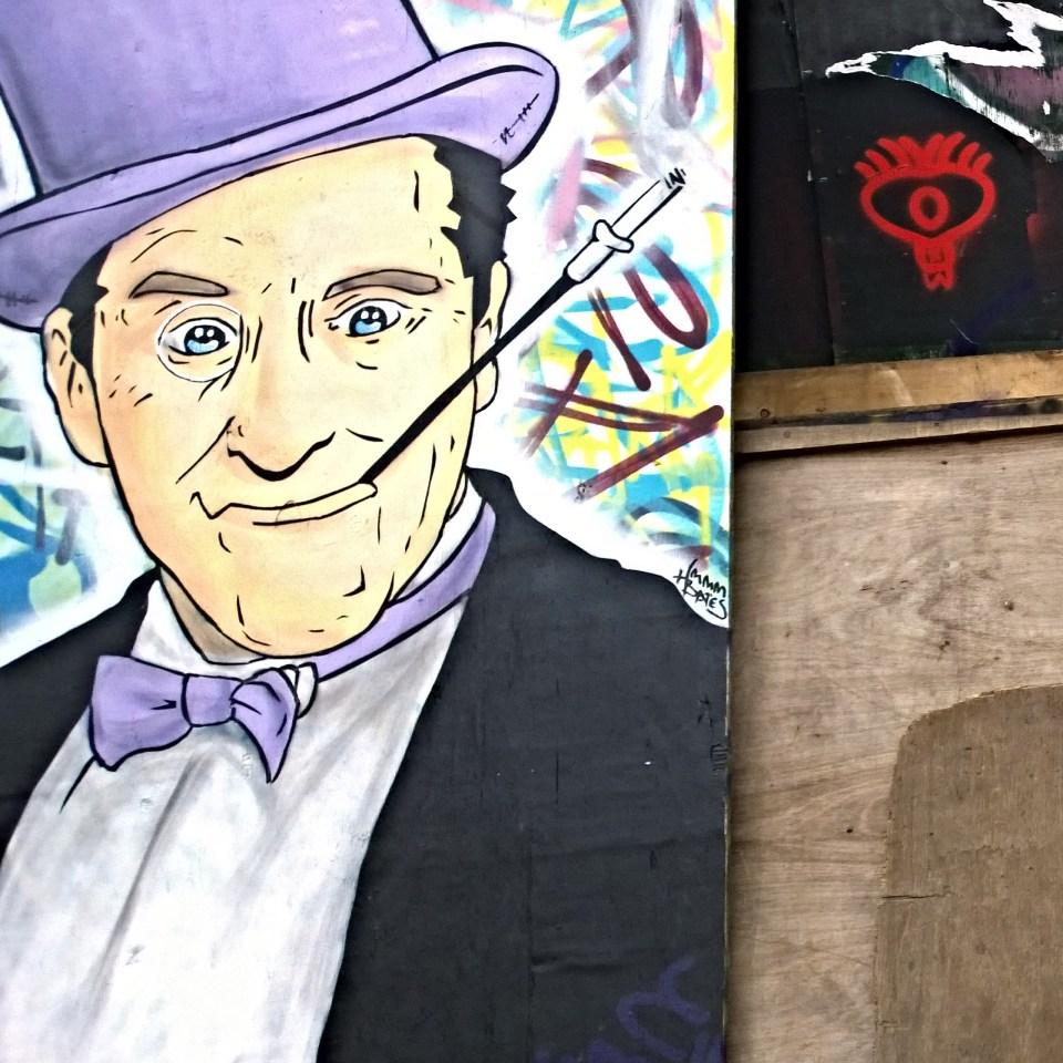 Pauli Bates painted the Penguin