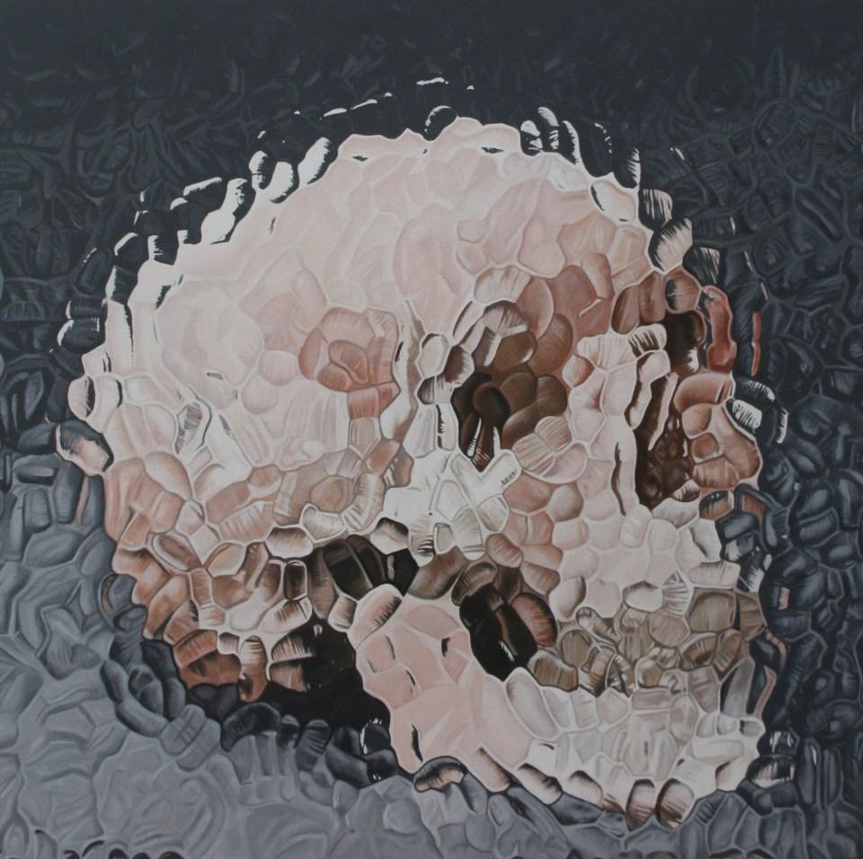 kull behind glass by John McCarthy