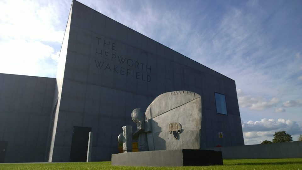 The Hepworth Gallery from the road